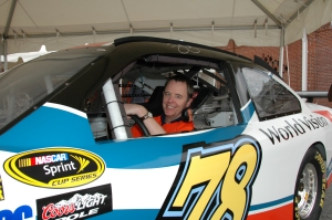 James Addis immerses himself in the NASCAR scene.