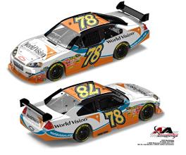 NASCAR WV car