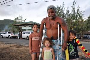 Ropati Opa, grandfather and hero. (Laura Reinhardt/WV)