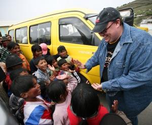 Miike Weaver in Ecuador in 2007. (Jim Scherer)