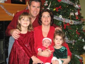 The Valadez family in December 2008. (Courtesy Deanna Valadez)