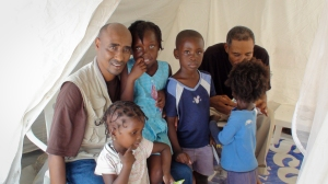 World Vision staff Haiti earthquake